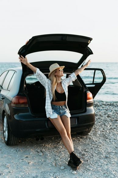 vacances en voiture pour les Francais
